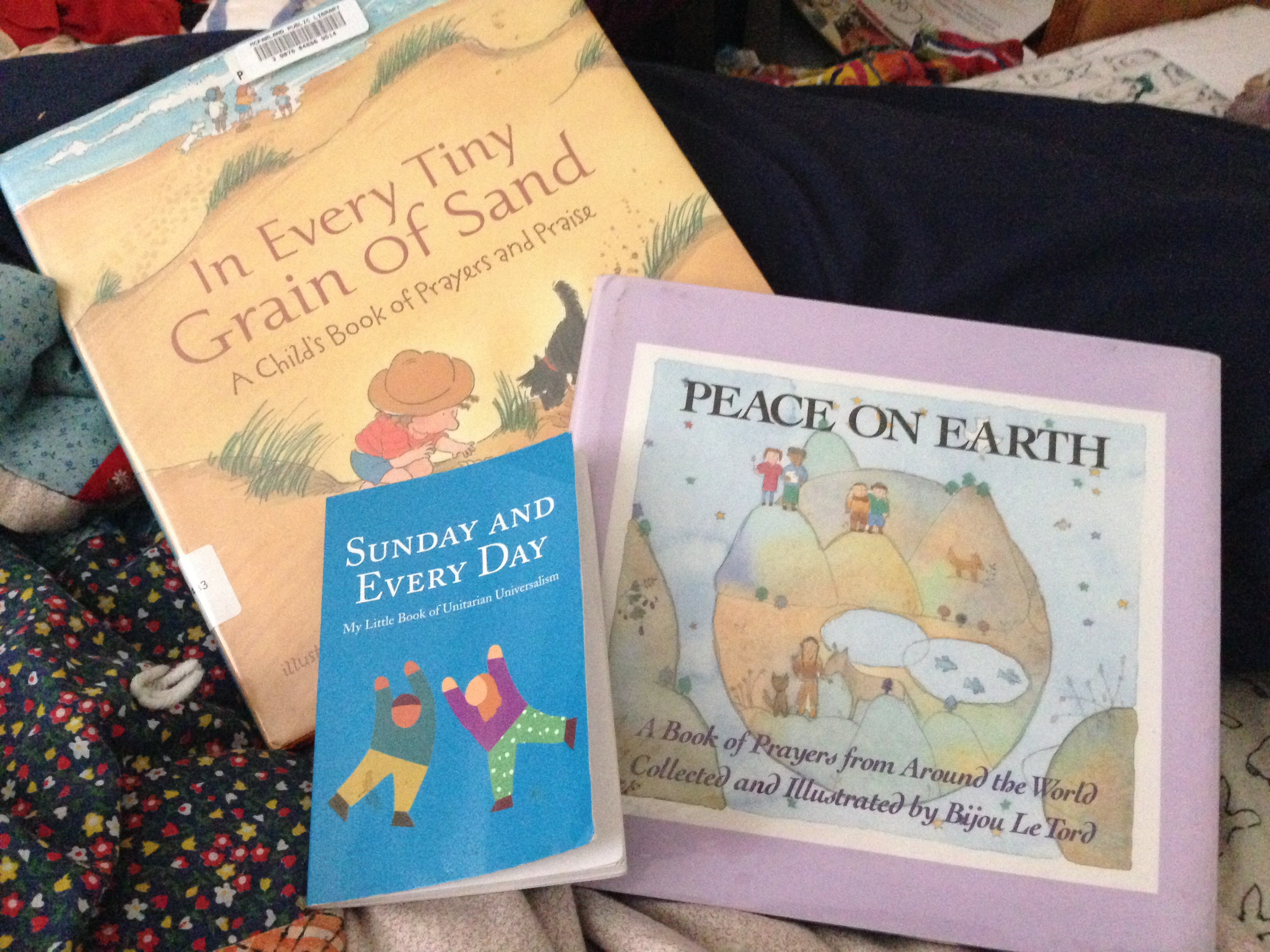 I've been busily organizing, de-cluttering, planning, and reading up on my  current obsessions (Earthschooling/Waldorf, the Goddess Brigid, ...